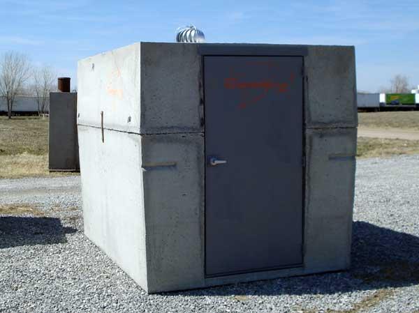Above Ground Steel Shelter : Storm shelters safe rooms share on above groundstorm