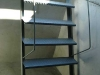 New concrete model stairs
