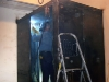 Welding to in home storm shelter