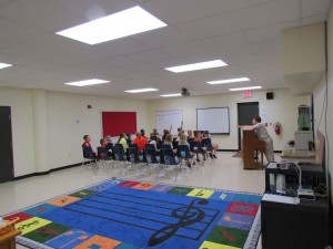 Safe Room for Erie Elementary School