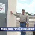 Mobile Home Park Tornado Shelters with Protection Shelters