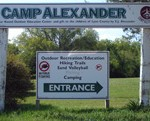 FEMA grant used to build group shelter at Camp Alexander in Emporia, KS.