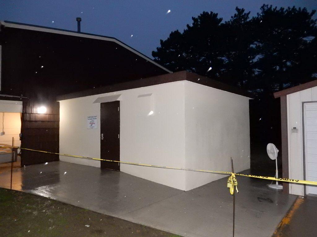Ellsworth Housing Authority Group Storm Shelter in Ellsworth, KS.