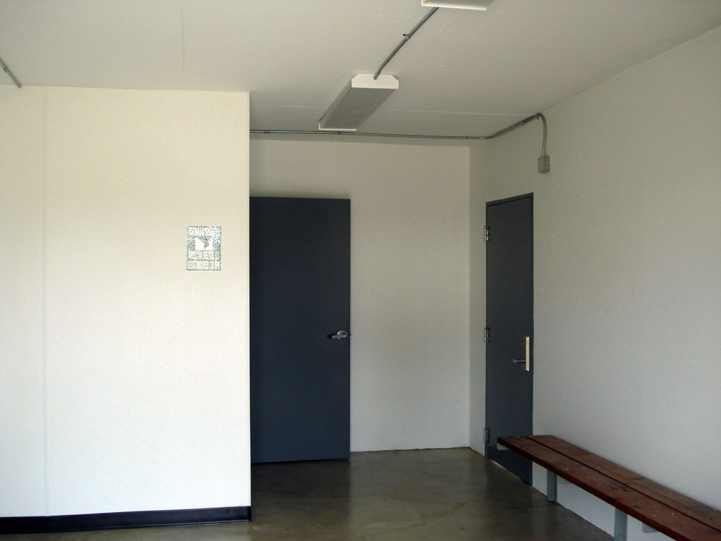 Inside Chapman Community shelter