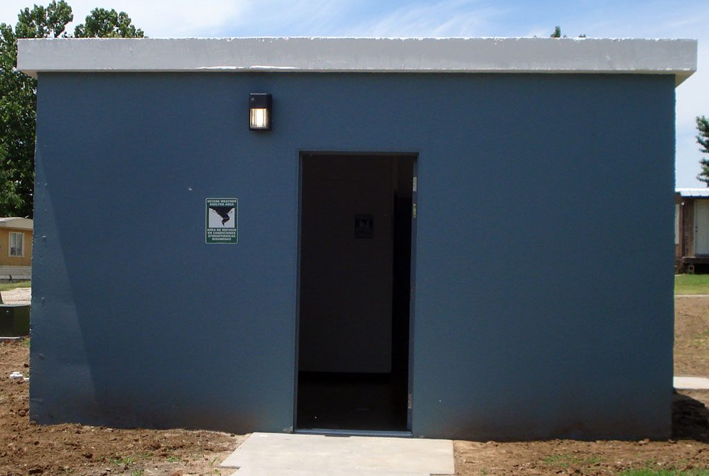 Steel Storm Shelters : Handicap accessible storm shelters protection