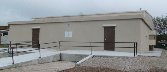 handicap accessible shelter