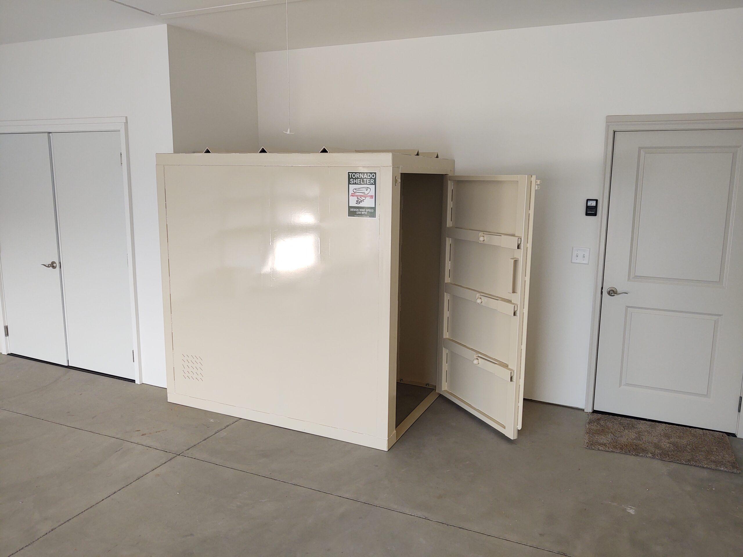 garage storm shelter